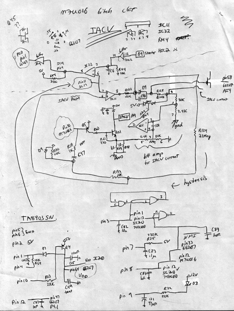 P28 Ecu Schematic Great Design Of Wiring Diagram Honda Pgmfi Org U2022 View Topic W Bad Iacv Circuit Need Help Rh Www2 Number